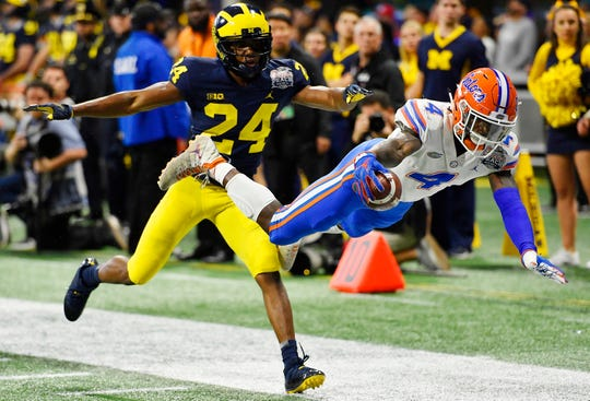 Michigan cornerback Lavert Hill returns for his senior season, but fellow starter David Long has declared for the NFL.