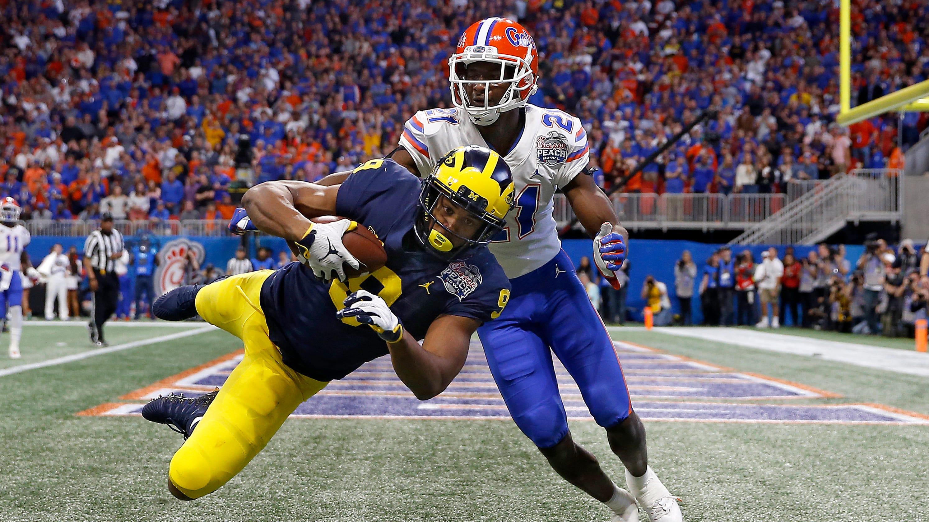 Michigan football injuries: WRs progressing, CB Thomas iffy