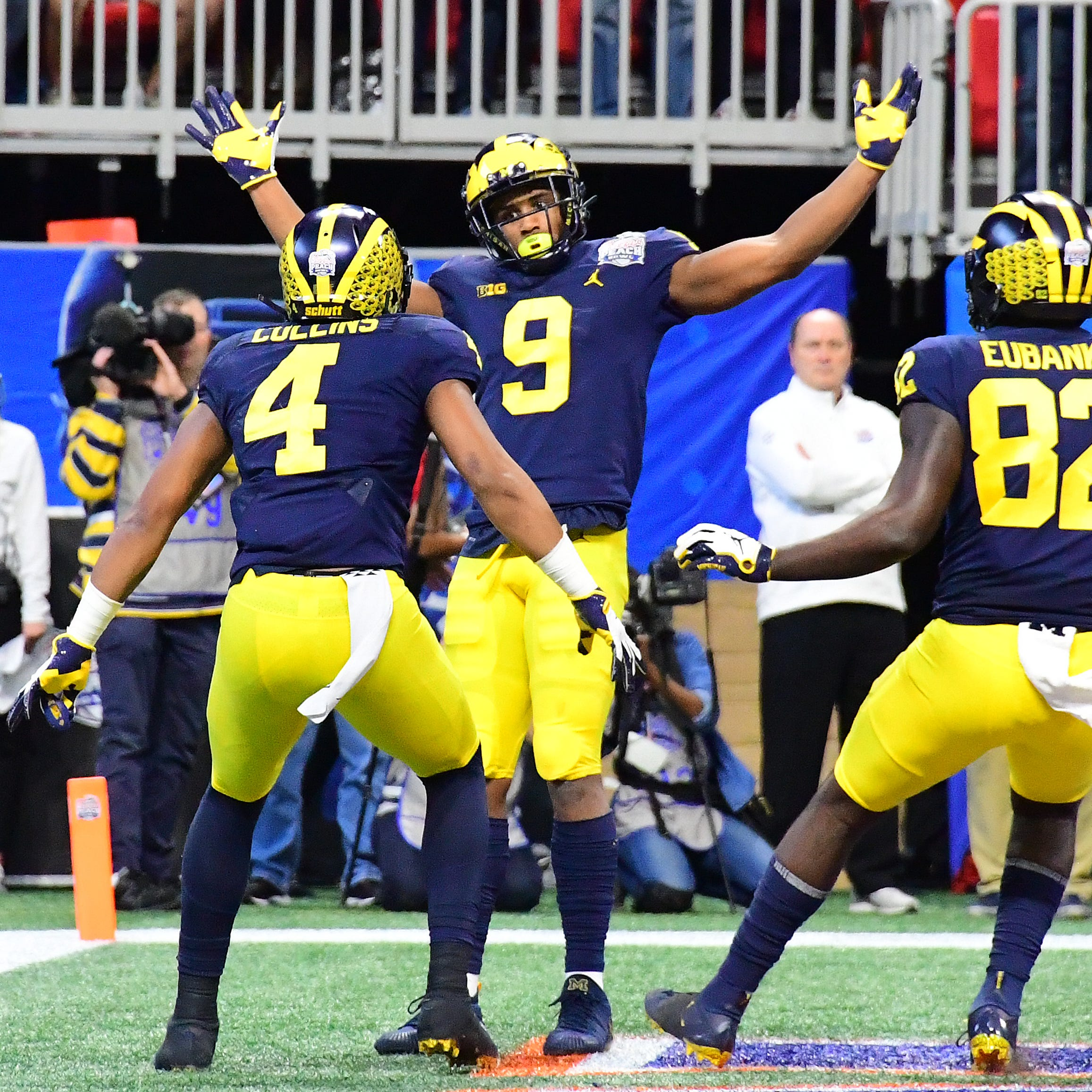 Michigan football's wide receivers hold key to 2019 season