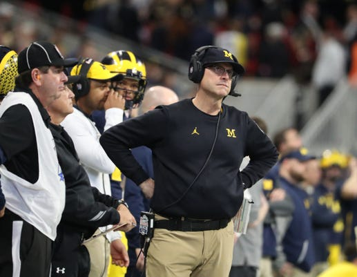 Sad Jim Harbaugh, Mad Jim Harbaugh