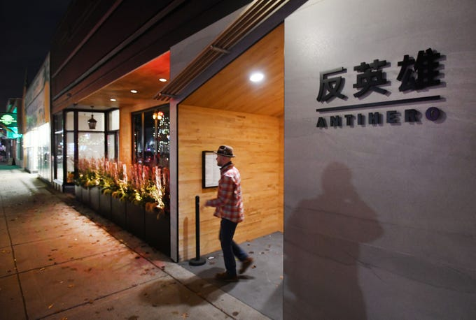 Ferndale hot spot Antihero delights customers with an  Asian-influenced menu in an izakaya-style bar and restaurant on 9 mile.