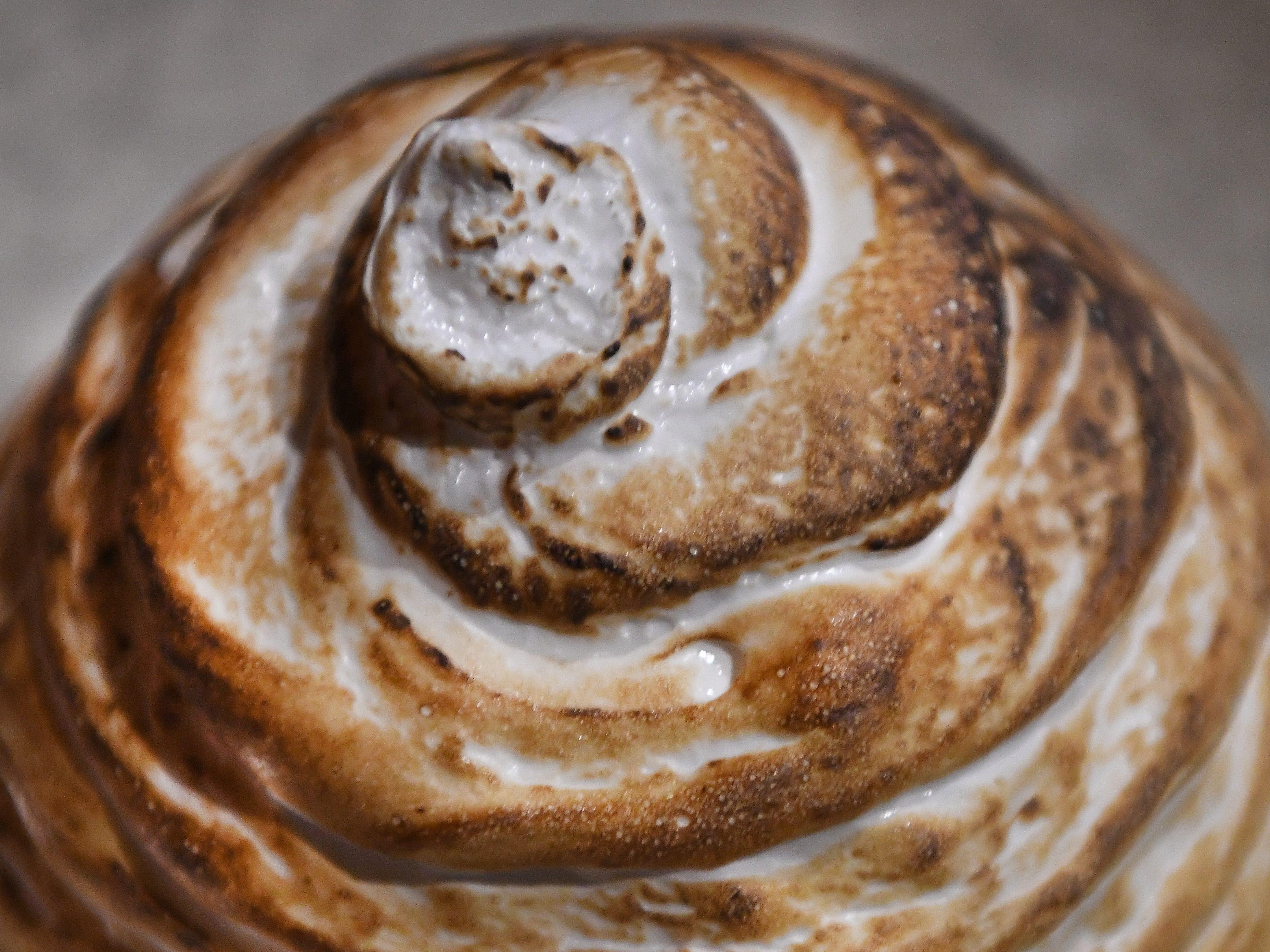 Antihero's version of baked Alaska.