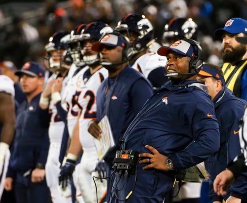 Nfl Denver Broncos At Oakland Raiders