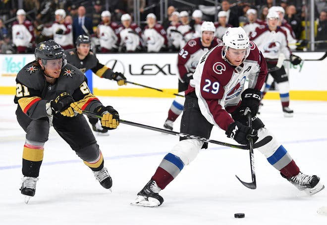 The Colorado Avalanche host the Los Angeles Kings at 6 p.m. Monday.