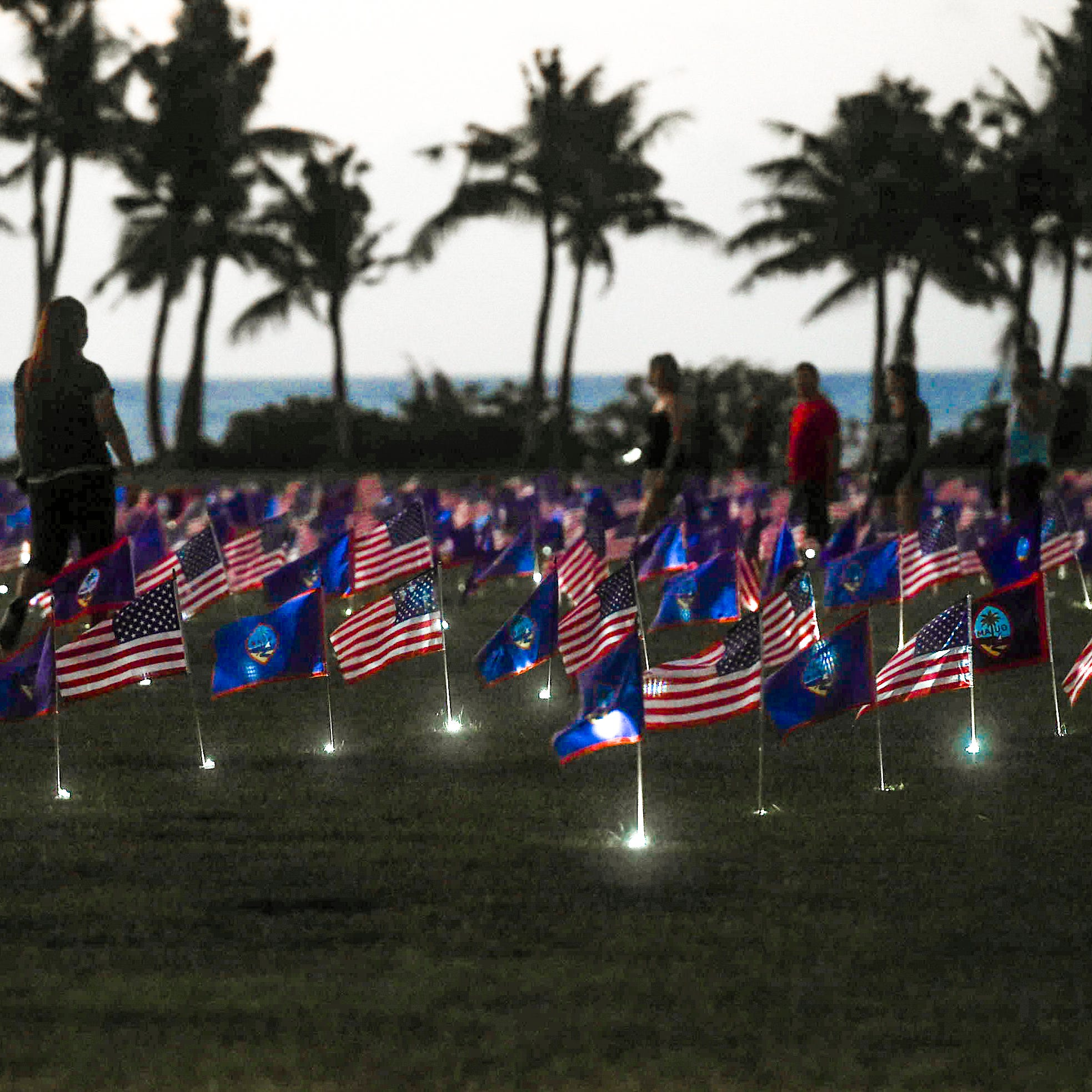 Volunteers sought for annual Memorial Day flag display at Asan Beach