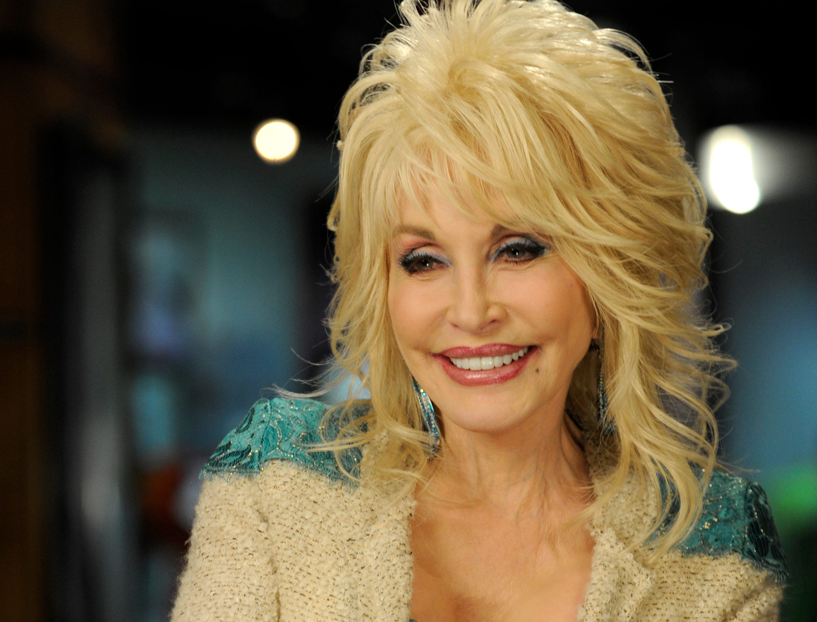 Dolly Parton talking about her career and dreams for Dollywood at her 2013 season preview Friday, Mar. 22, 2013.