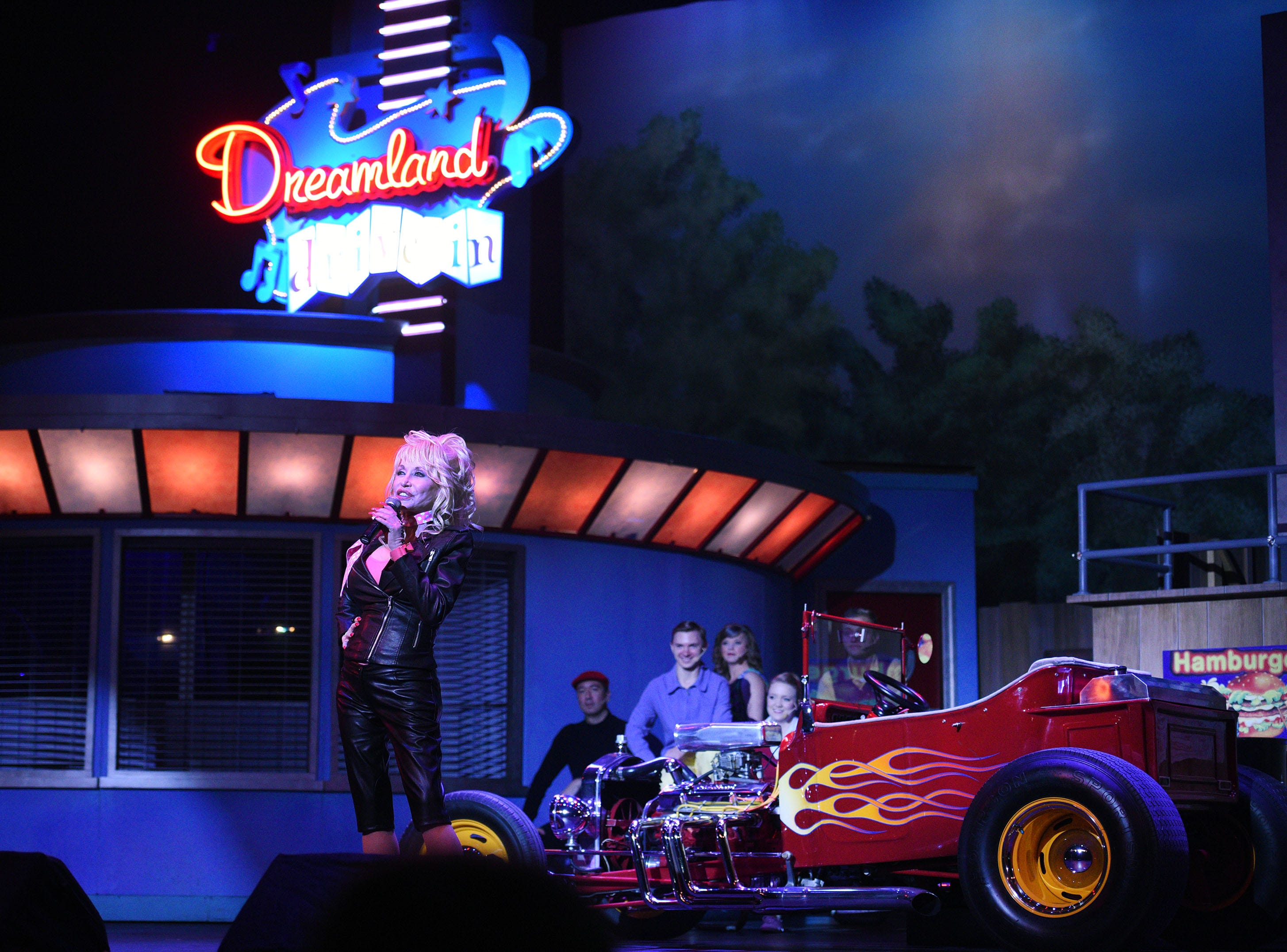 Dolly Parton and Dollywood announced a $22 million wood coaster that will mark the largest attraction investment in the park's history Friday, Aug. 7, 2015. The Lightning Rod is the world's fastest, first launching wood coater and construction is expect to be ready in 2016.