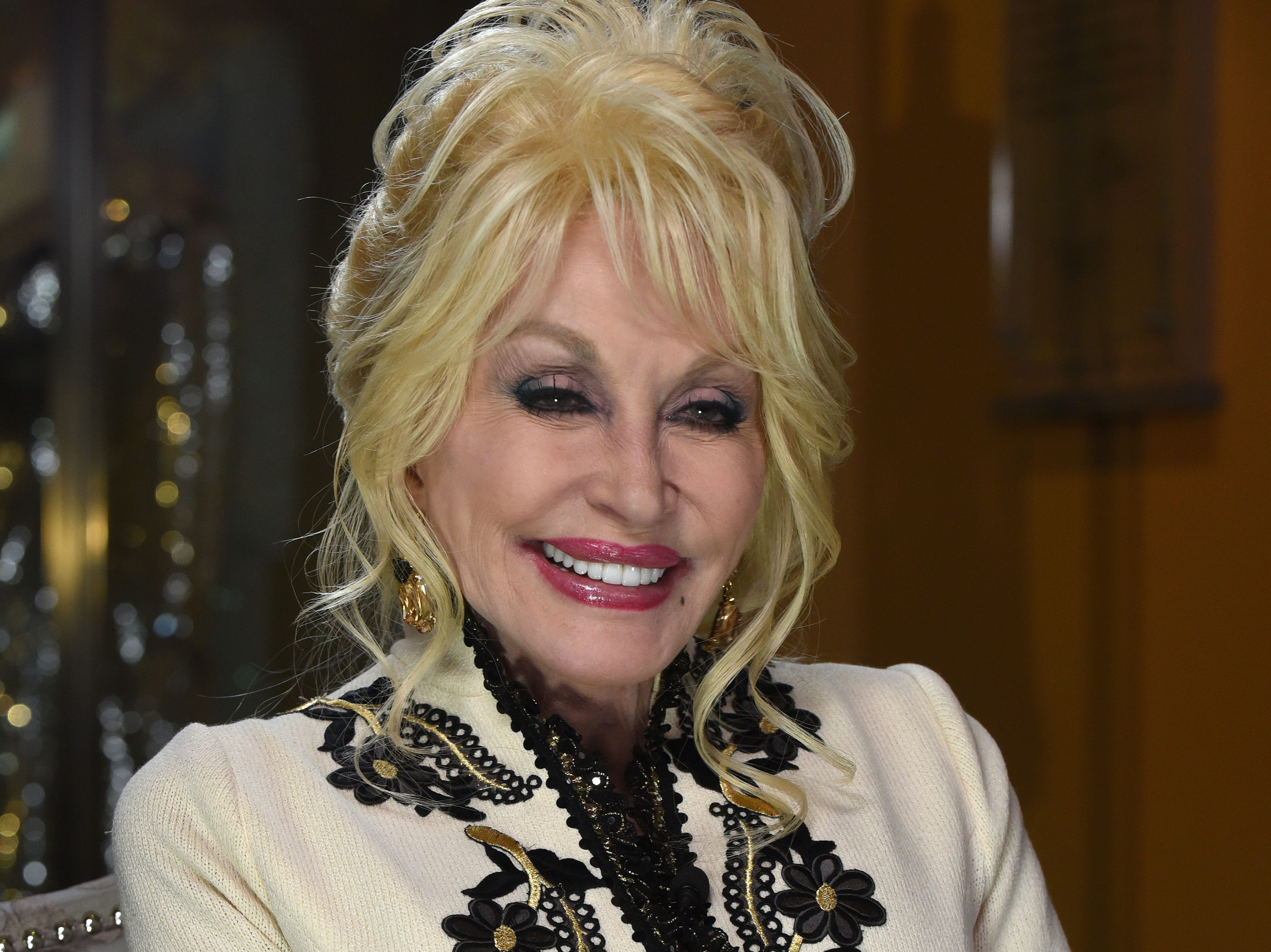"Dolly Parton was at Dollywood to help launch their ""Season of Showstoppers"" with a special preview for media and season passholders Friday, Mar. 16, 2018."