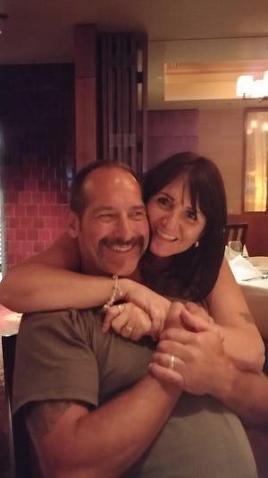 Glenn Rightsell, shown here with his wife, Gloria, died Friday, Dec. 28, after being shot in a police-action shooting by an Indiana State Police trooper on U.S. 231, near Linden.
