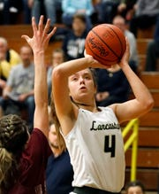 Lancaster senior Brittney Azbell was named Division I first team by the District 11 Coaches Association.