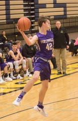 Fowlerville's Billy Hutchins had 27 points, 10 rebounds and 4 assists in an overtime loss to Lansing Eastern.