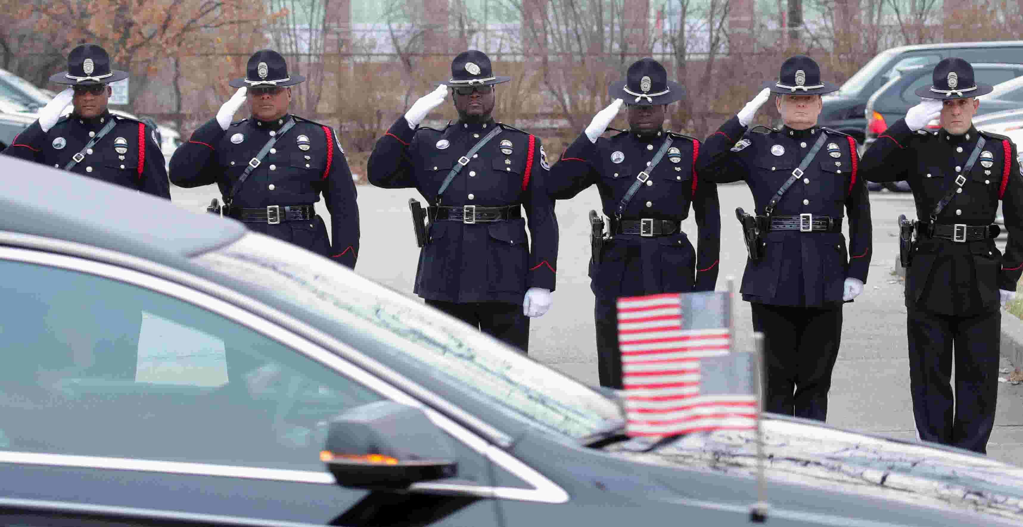 police honor louisville officer deidre mengedoht in last ride