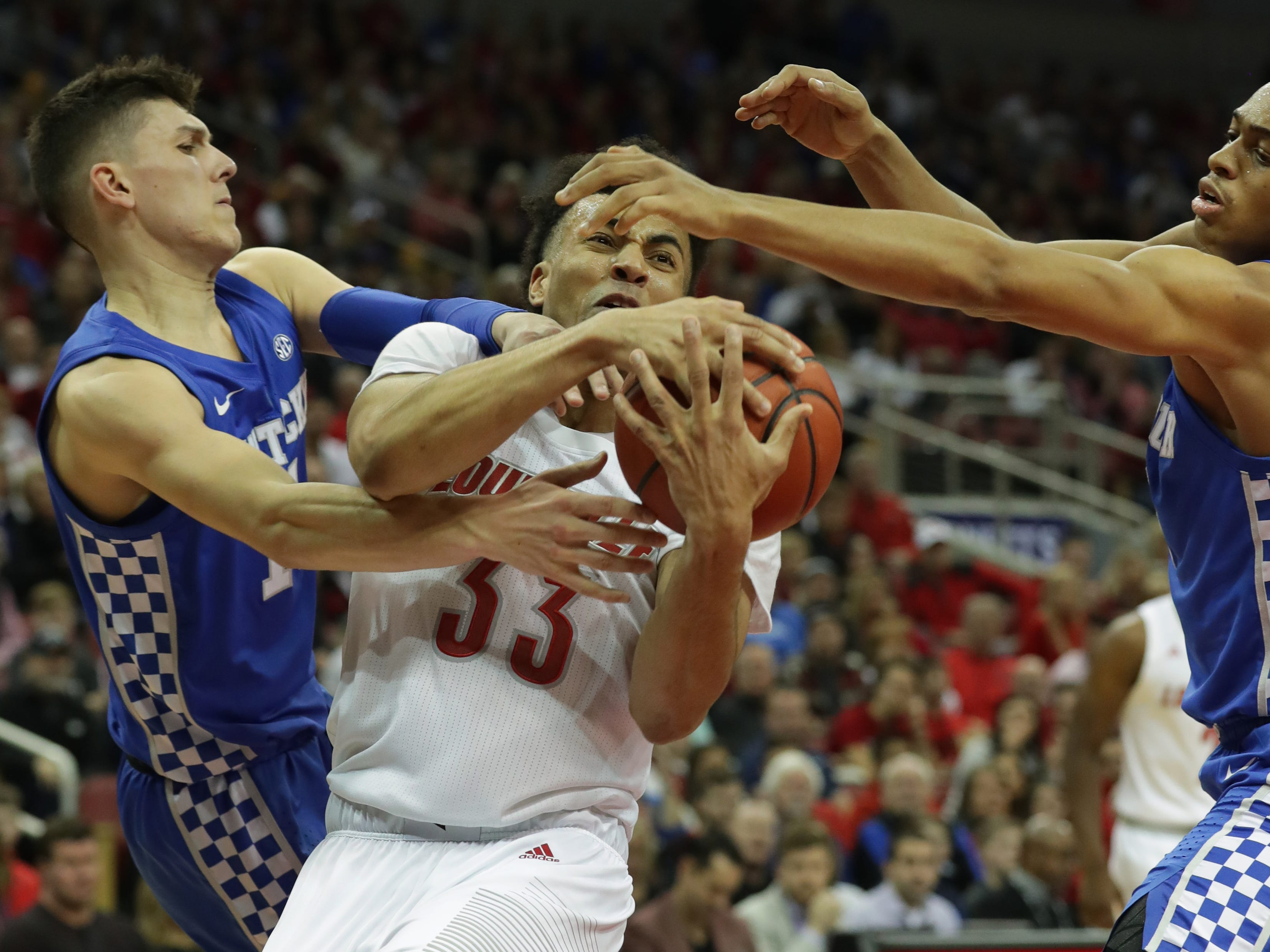 Where NBA mock drafts have Kentucky, Louisville and Indiana players