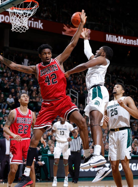 Msu Vs Northern Illinois Basketball