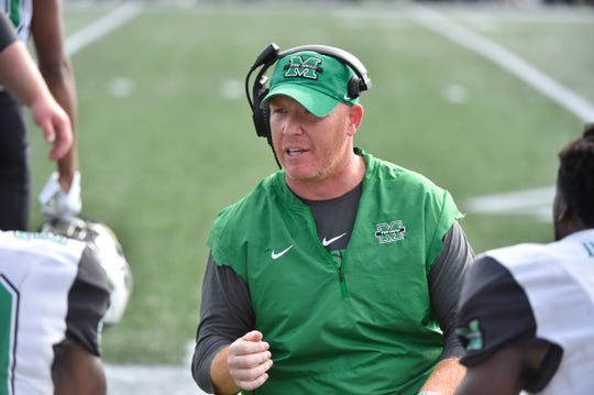 Memphis defensive coordinator Adam Fuller spent the previous six seasons at Marshall