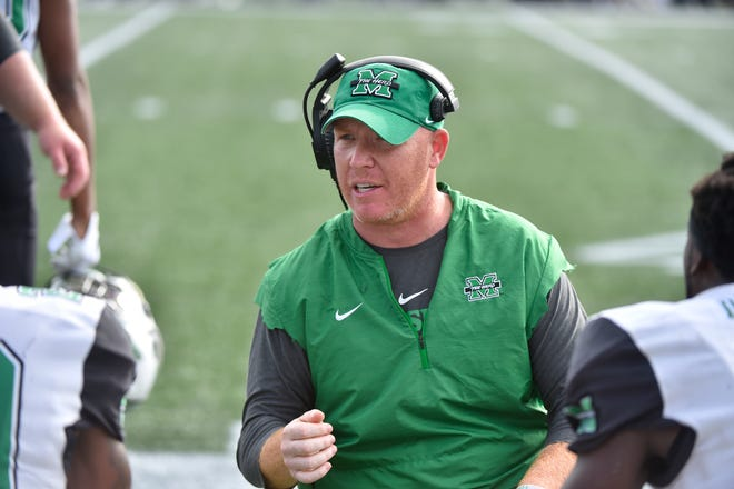 Marshall defensive coordinator Adam Fuller will become Memphis' next defensive coordinator.
