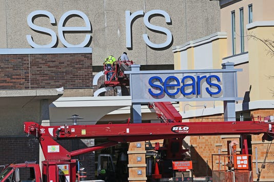 Sears Sign At Broolfield Square March 2018