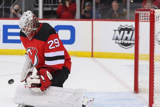 mackenzie blackwood earns 1st nhl shutout in devils 2 0 win