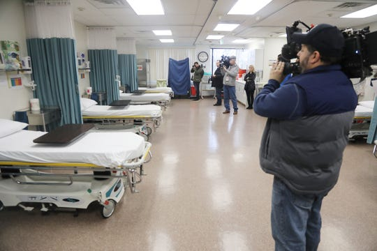 Media was allowed in to take photos and videos of the surgical waiting area at HealthPlus Surgery Center, on December 29, 2018, as part of a press conference to demonstrate what the center is doing to comply with NJ Department of Health regulations. The facility was closed by the NJ Department of Health recently for not complying with certain regulations.