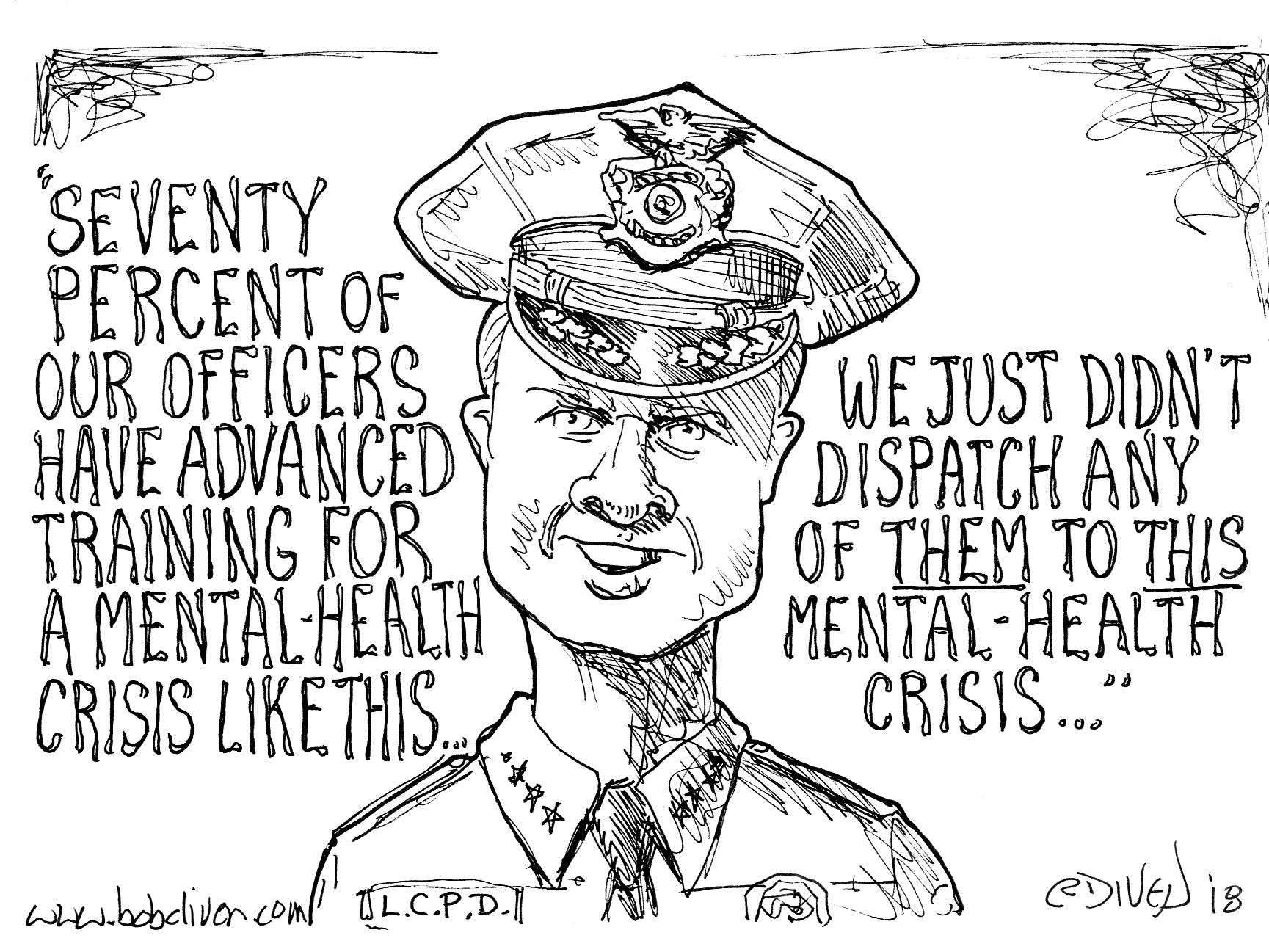 Bob Diven editorial cartoon, published Aug. 19, 2018