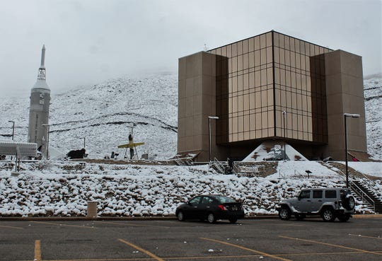 The New Mexico Space History Museum was closed until noon Saturday due to inclement weather.
