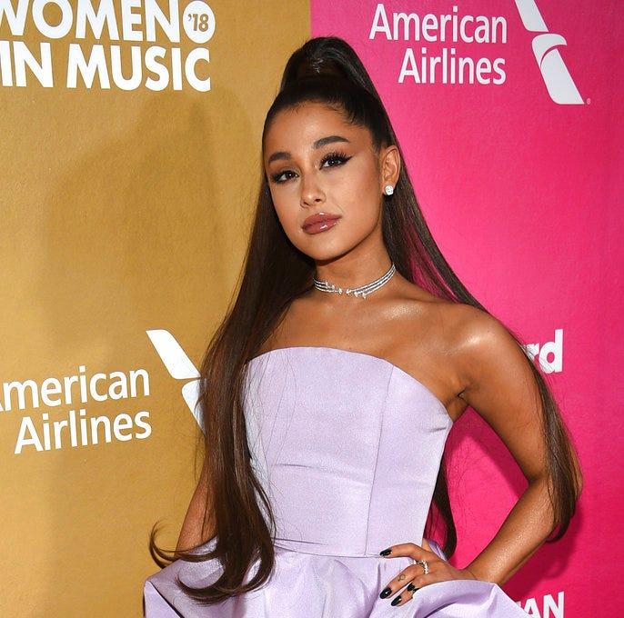 Ariana Grande won 2018