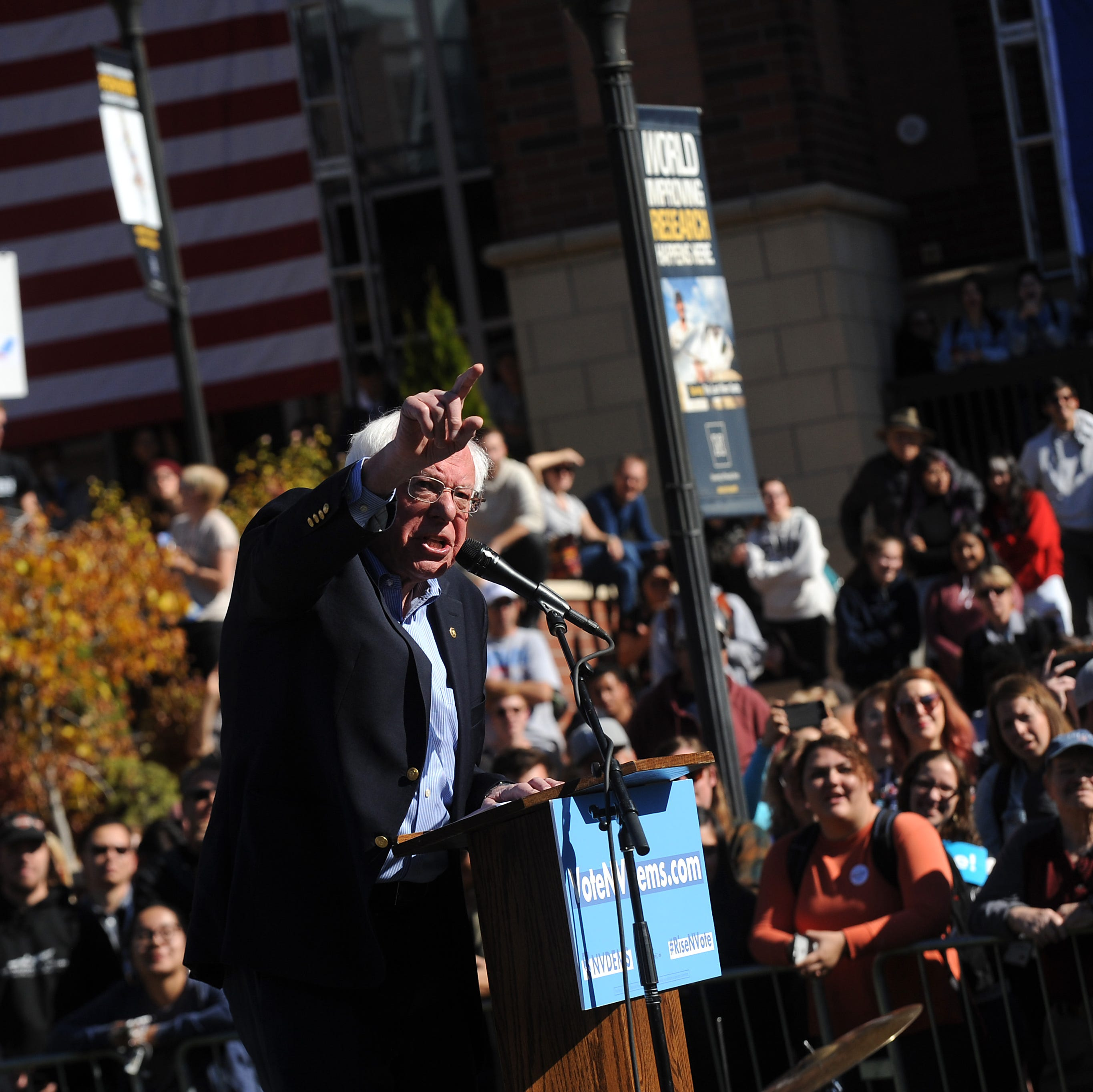 Bernie Sanders to rally in Reno during first 2020 campaign visit to Northern Nevada