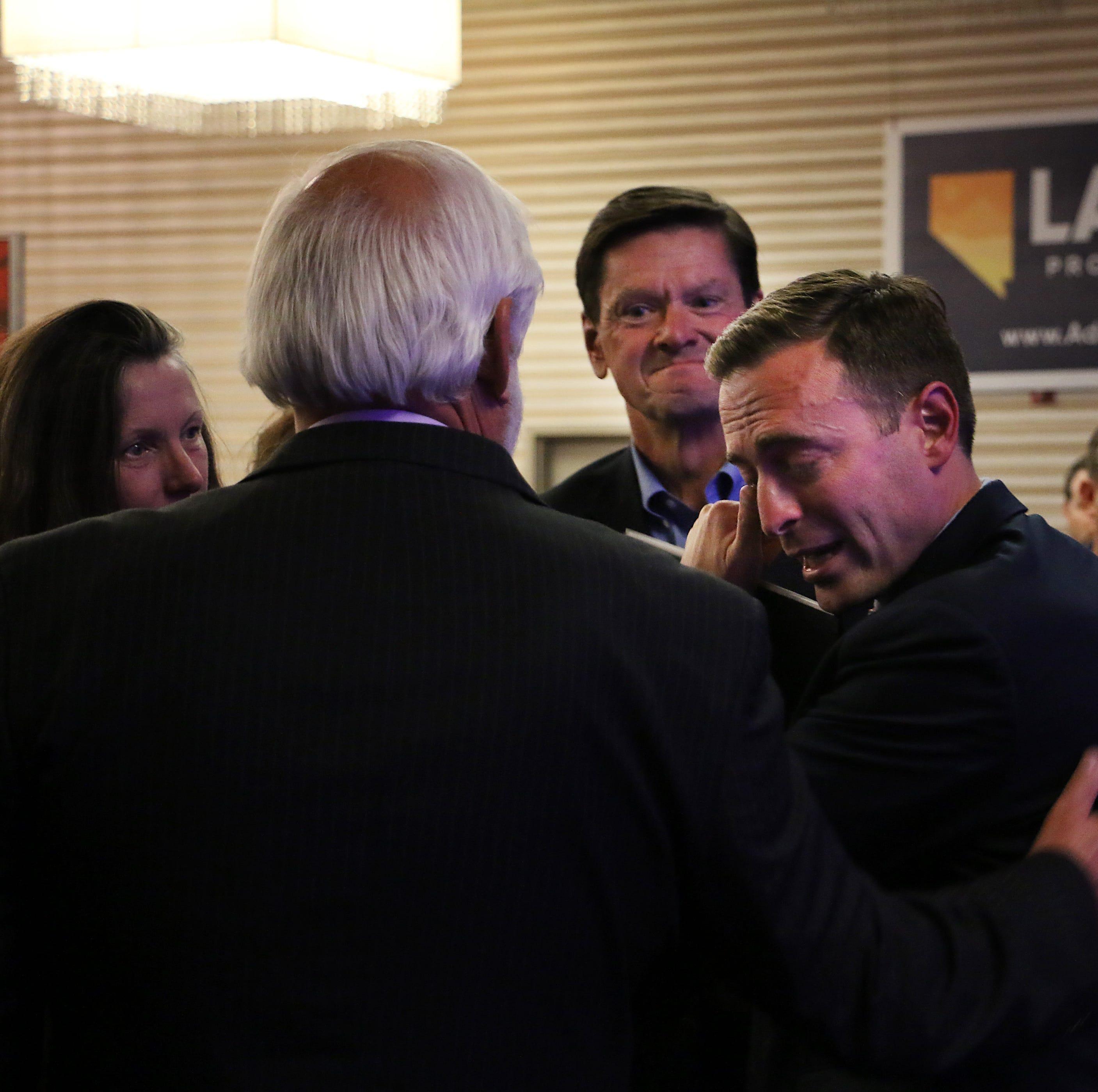 GOP former governor hopeful Laxalt announces new job with a Washington D.C.-based law firm