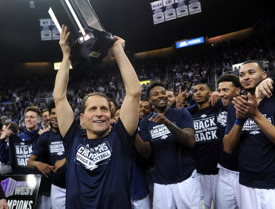 Nevada has won three Mountain West titles under Eric Musselman -- two regular-season and tournament.