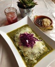 Villa Azteca plans to feature dishes such as enchiladas verdes.