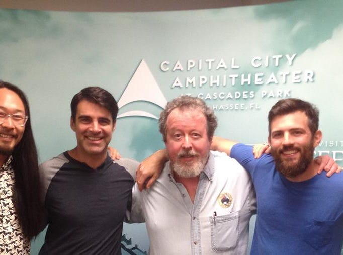 Mark Hinson and the Avett Brothers