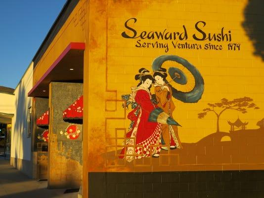 Exterior Seaward Sushi