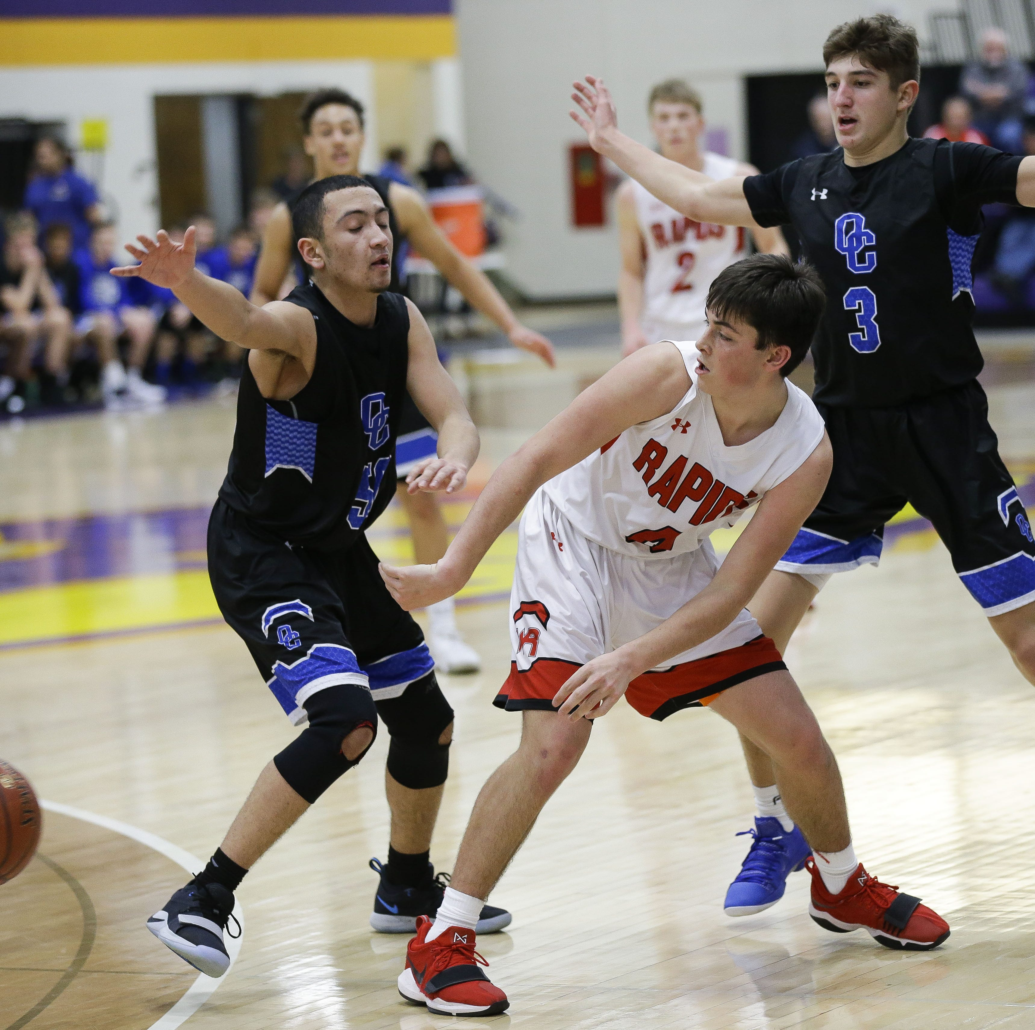 High school boys basketball: Wisconsin Rapids needs extra effort to edge Oak Creek