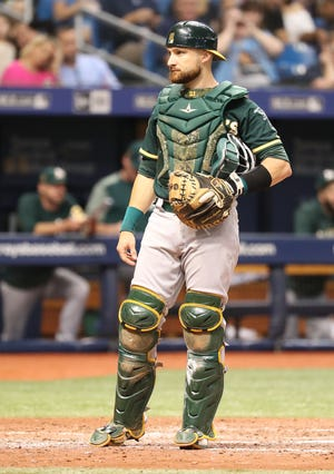 The Angels will be Jonathan Lucroy's fifth team in four seasons.