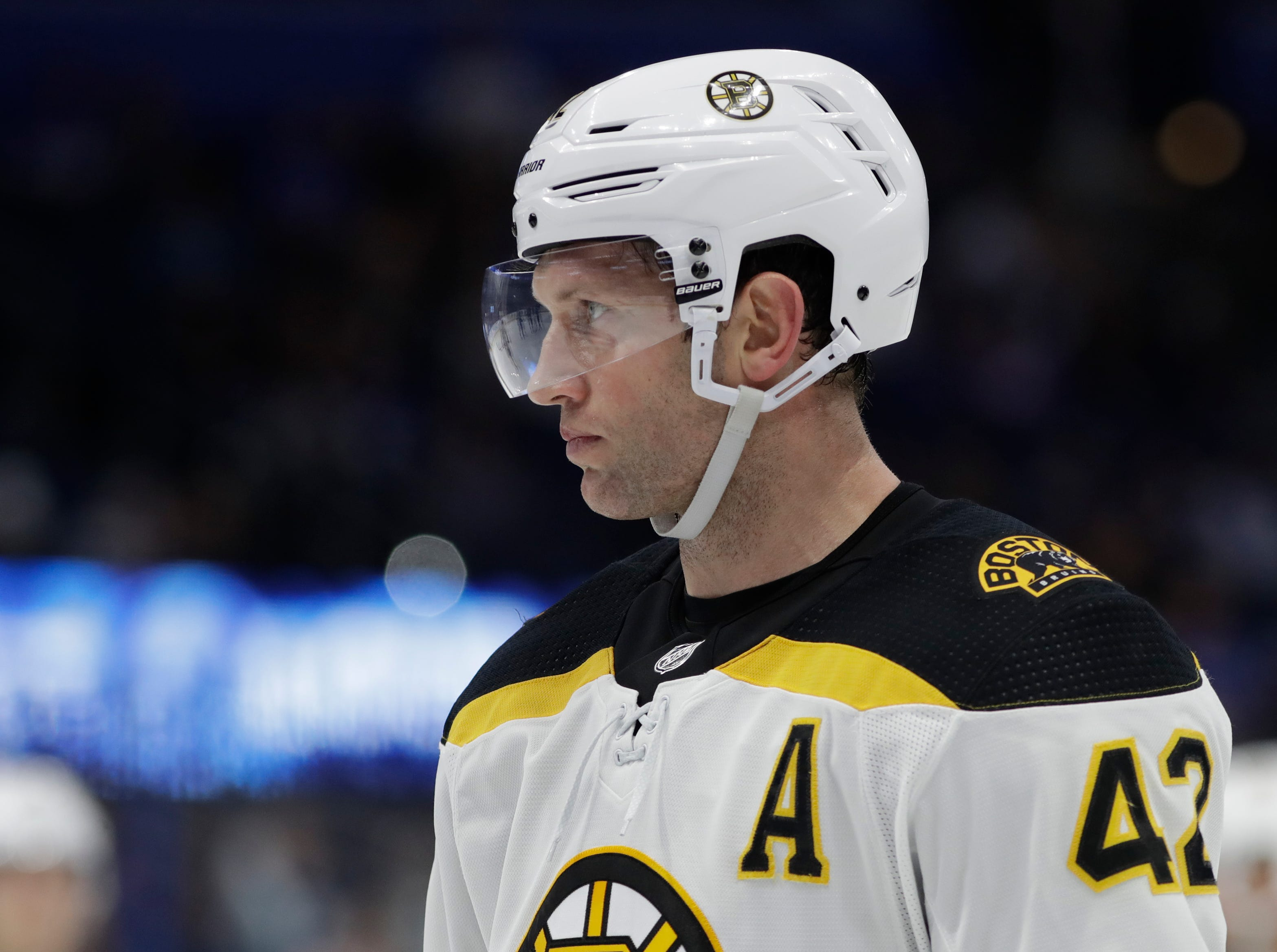 Dec. 28: Boston Bruins right wing David Backes was suspended for three games for an illegal hit to the head of New Jersey Devils forward Blake Coleman. Lost pay: $219,512.19.