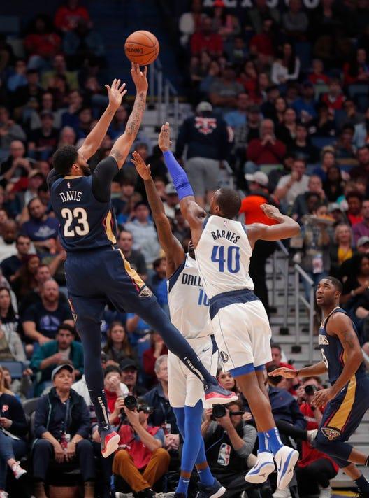 Ap Mavericks Pelicans Basketball S Bkn Usa La
