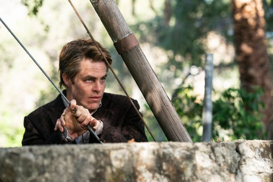 """After comedic turns in """"Angie Tribeca"""" and """"SuperMansion,"""" Chris Pine returns to TV in gritty miniseries """"I Am the Night."""""""
