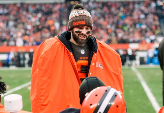nfl week 17 matchups can baker mayfield browns spoil ravens season