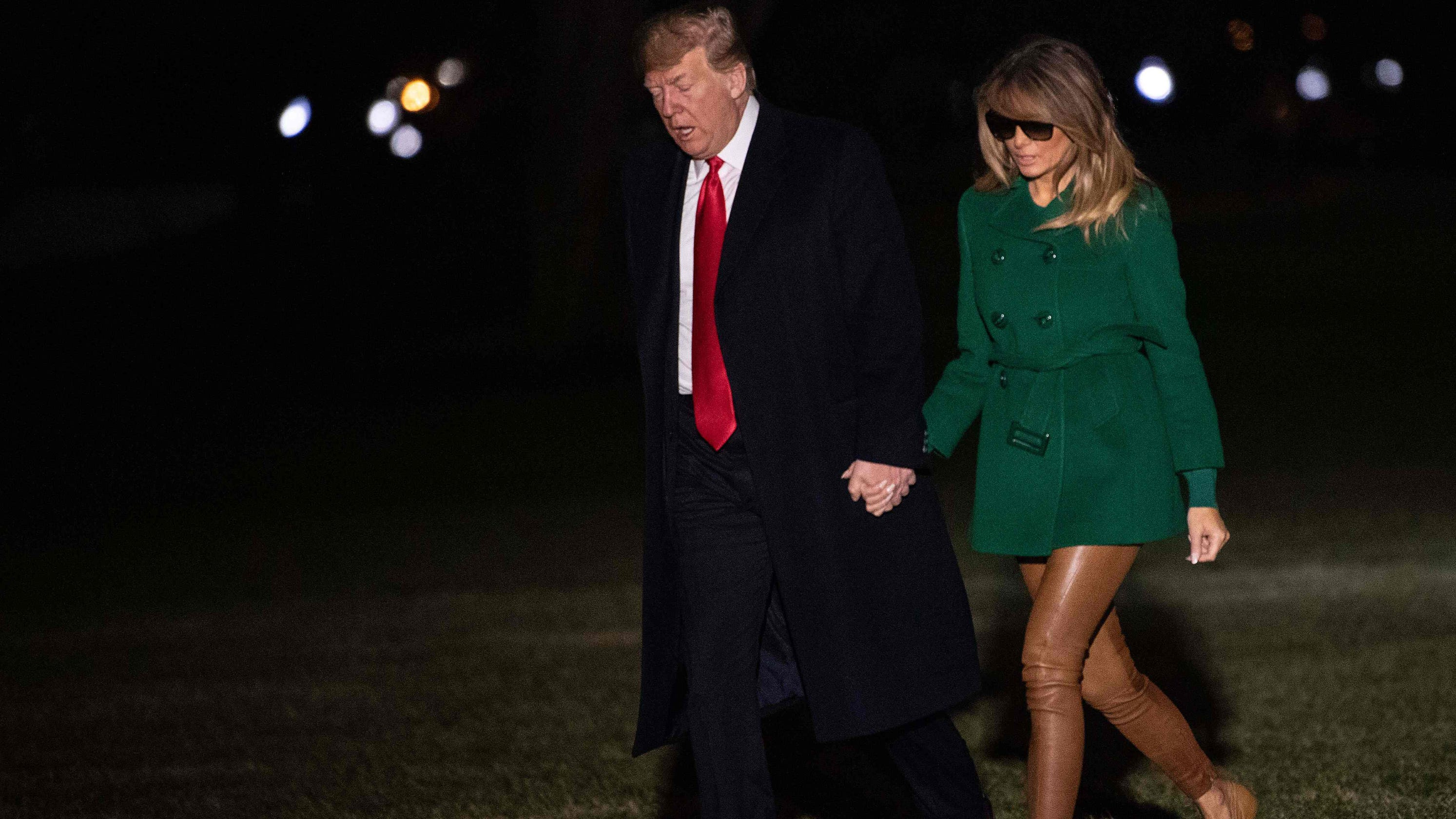 a98786760ae Melania Trump s nude pants made Twitter think she went without pants