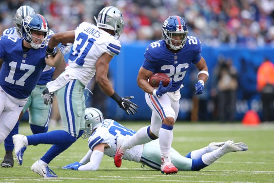 Nfl Dallas Cowboys At New York Giants