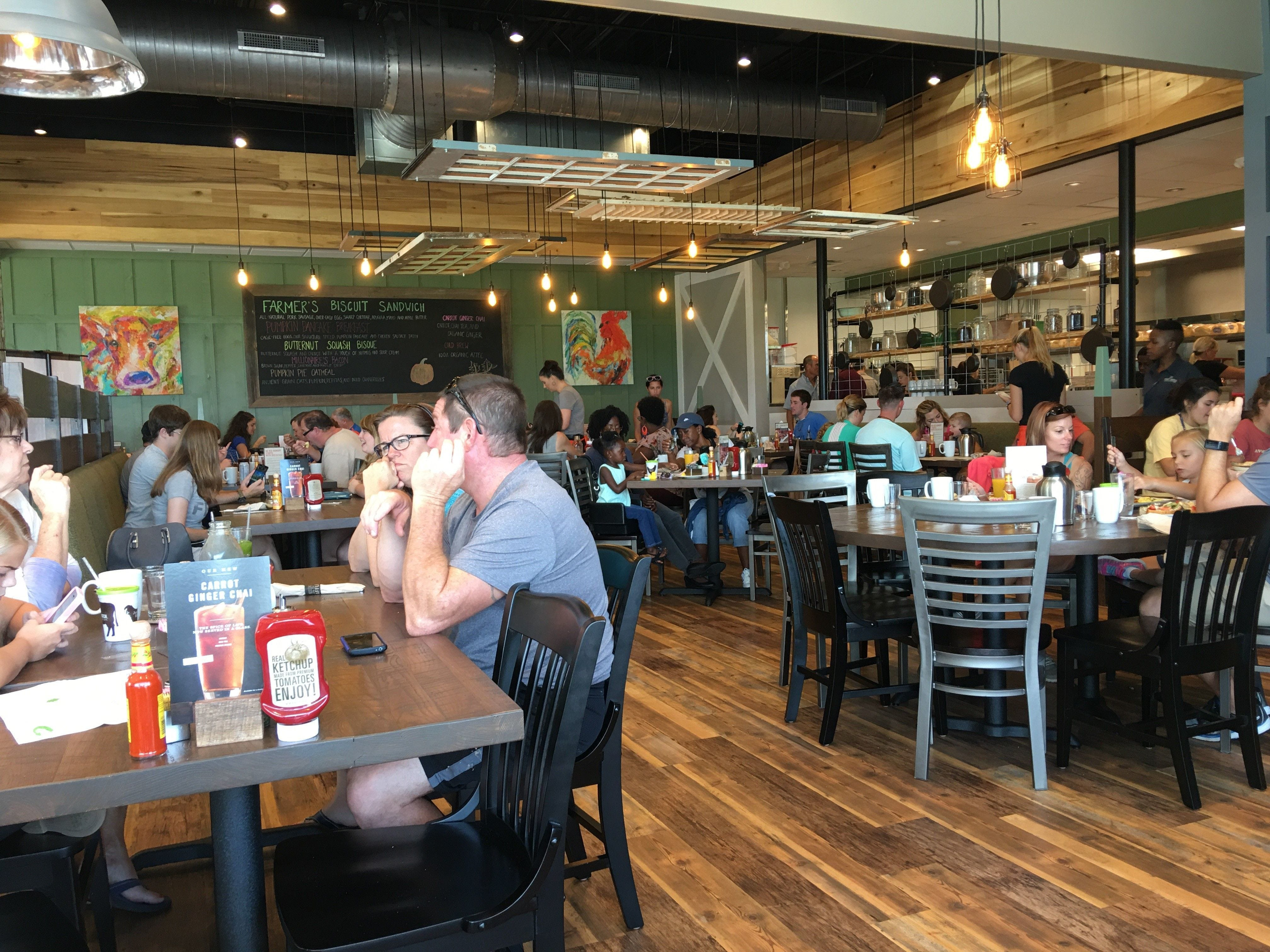 OPEN: First Watch has become a popular spot for breakfast in Viera.