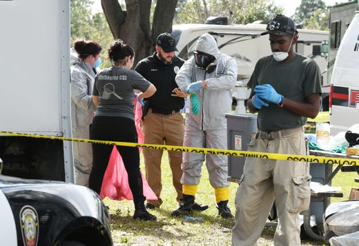 Dead body discovered at Wickham Park campground in Melbourne