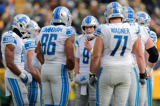Nfl Detroit Lions At Green Bay Packers