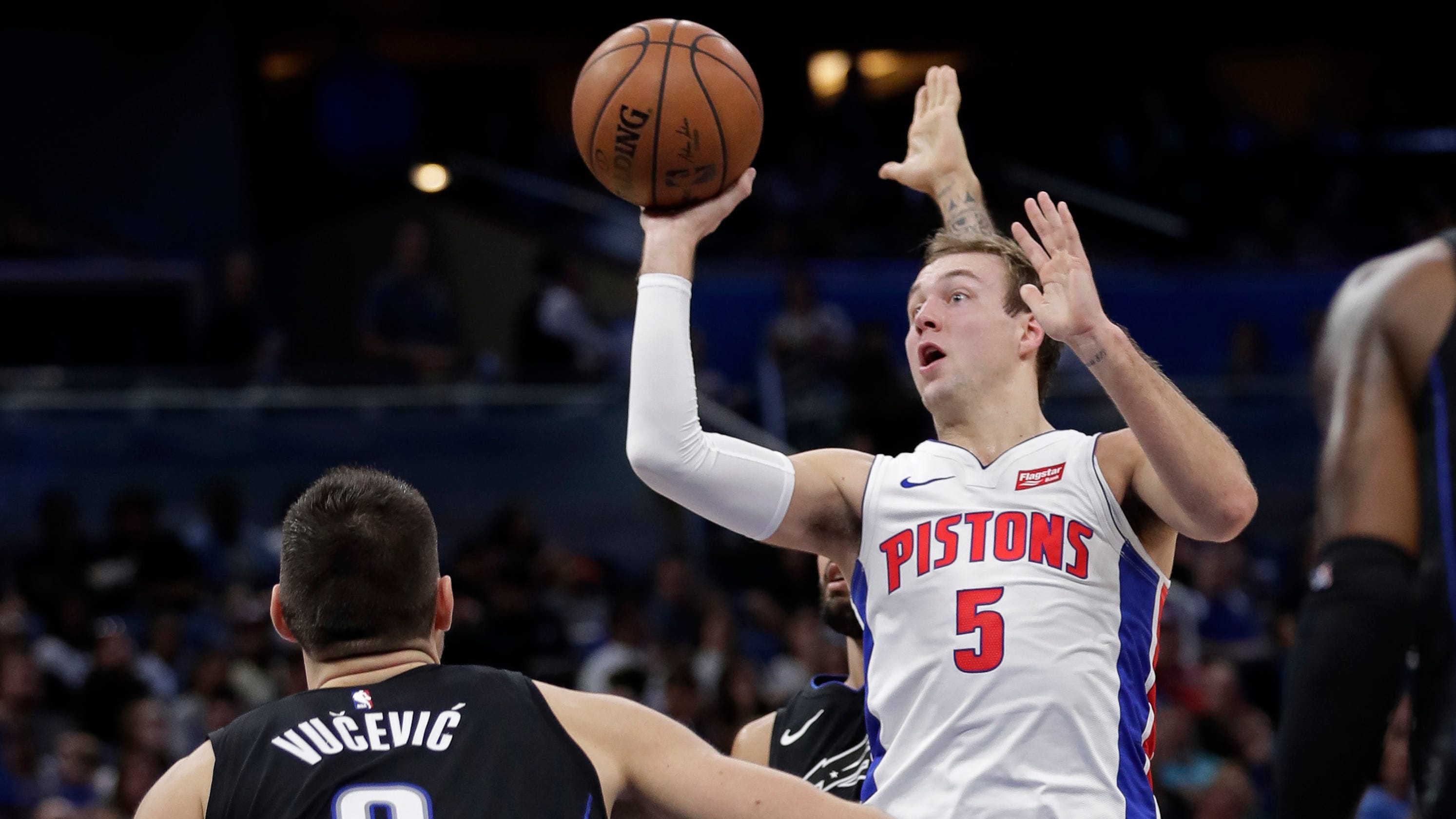 0d14ccdf4617 Detroit Pistons work to develop Luke Kennard — while earning victories