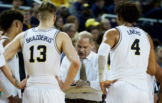 John Beilein huddle, Michigan huddle