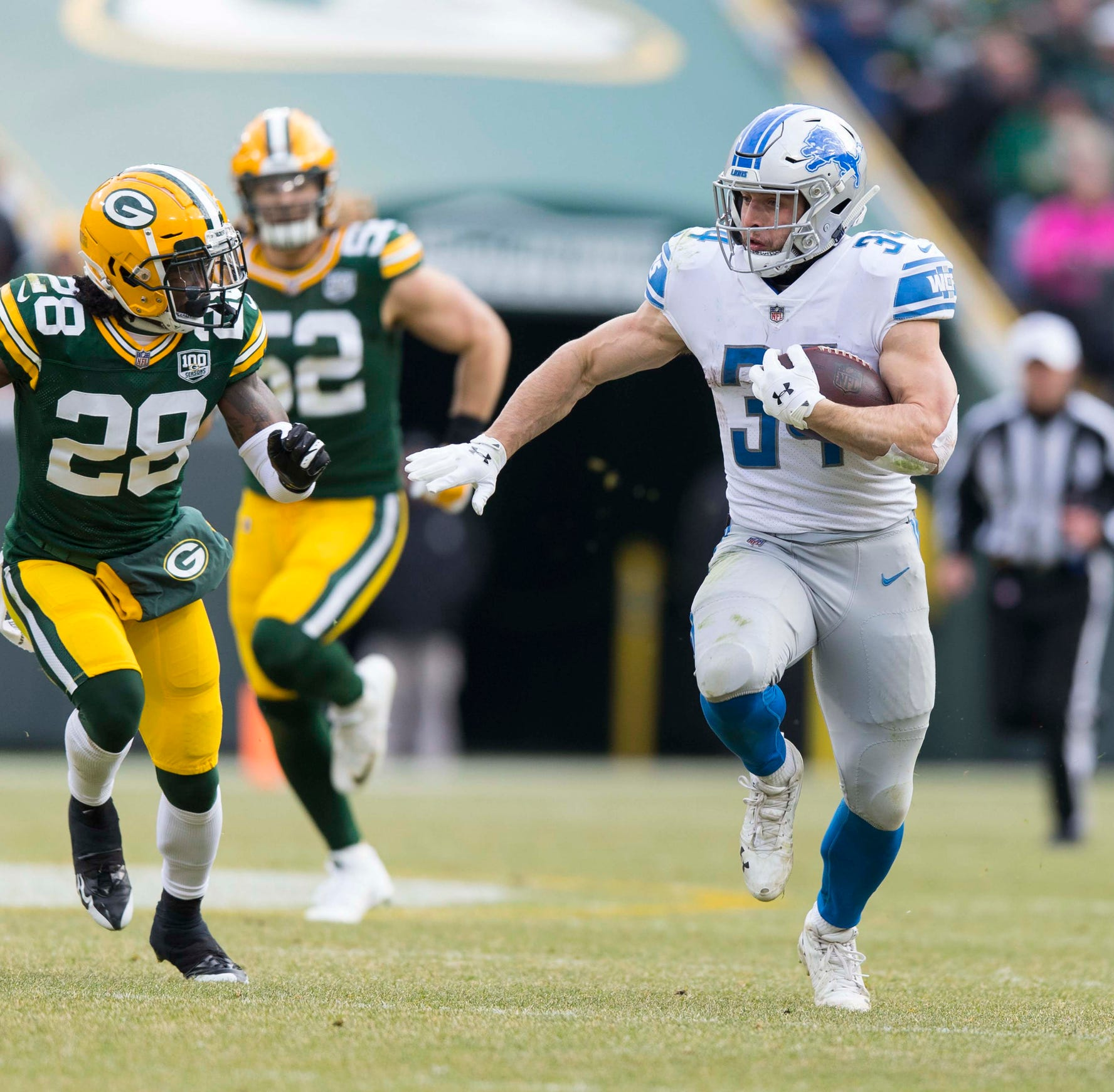 Zach Zenner confident he made best of chance with Detroit Lions