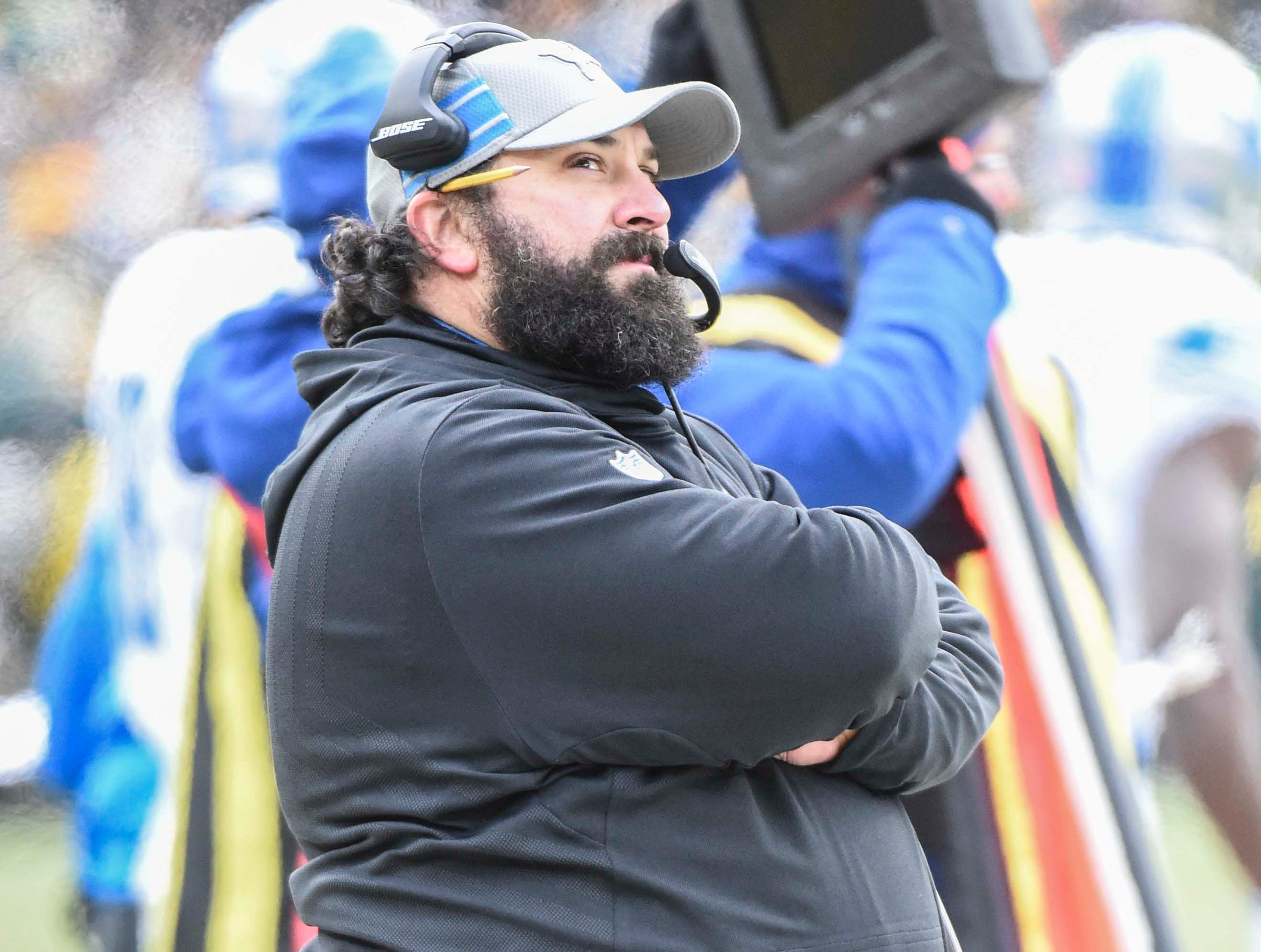 Lions' Matt Patricia becoming more self-aware, which could equal more wins