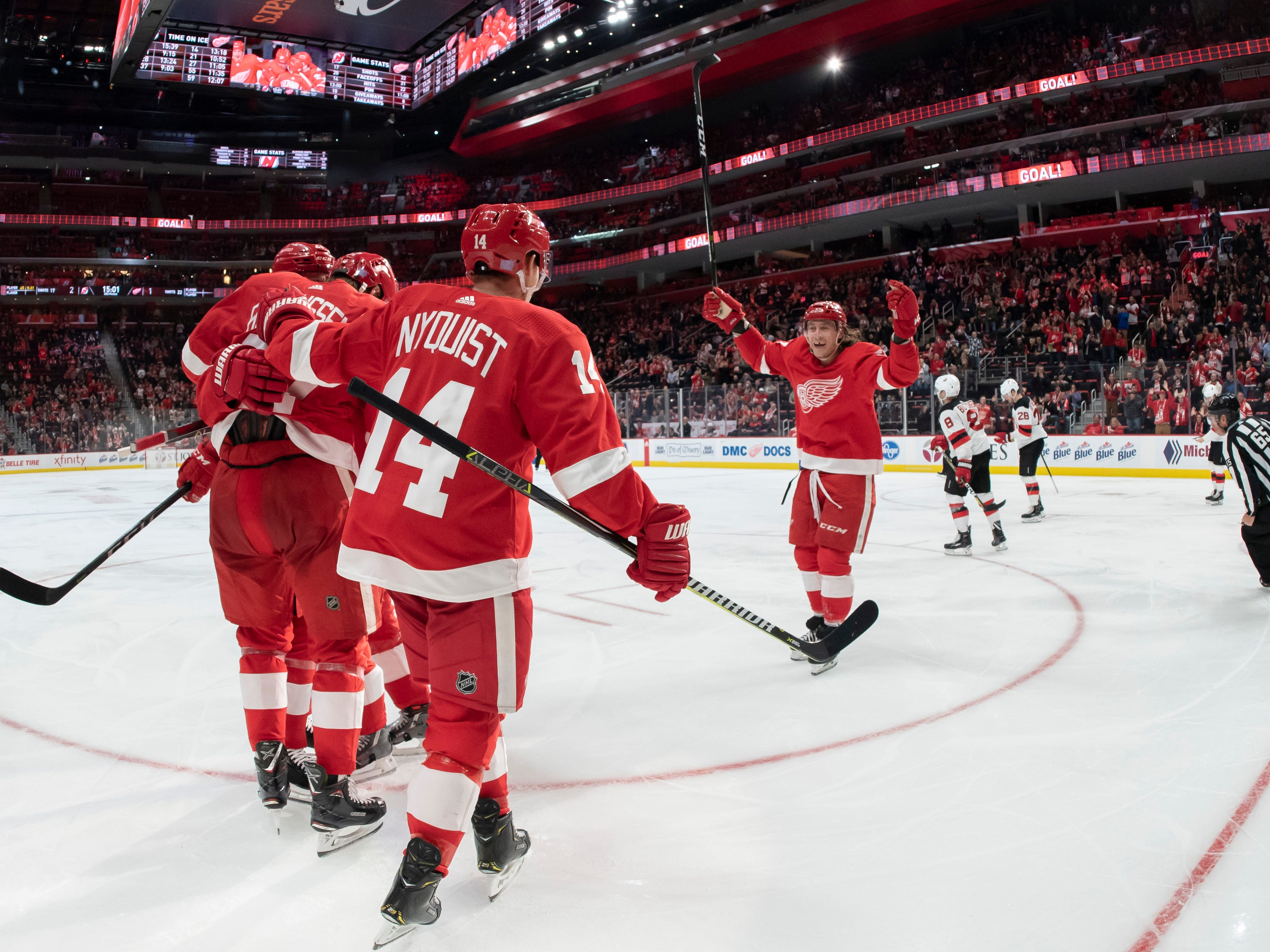 Go through the gallery for midseason grades and analysis on the Red Wings by Ted Kulfan of The Detroit News.