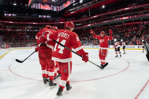 7d49fd2d9 Go through the gallery for midseason grades and analysis on the Red Wings  by Ted Kulfan