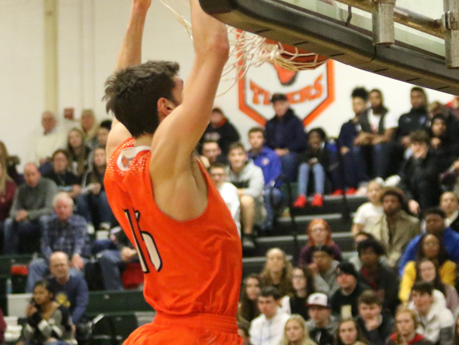 Greater Latrobe was a 71-50 winner over Elmira in the boys National Division semifinals at the Josh Palmer Fund Elmira Holiday Inn Classic on Dec. 29, 2018 at Elmira High School.
